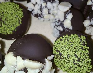 Coffee & chocolate protein truffles